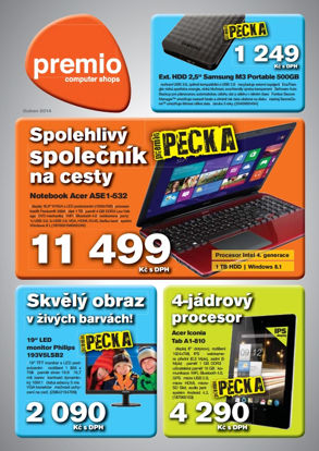 Premio noviny duben 2014 ke stažení