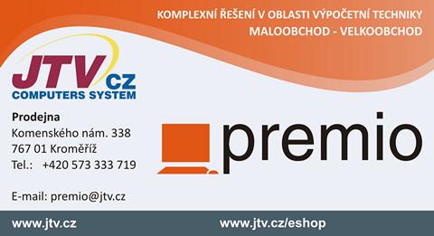 Prodejna Premio Kroměříž